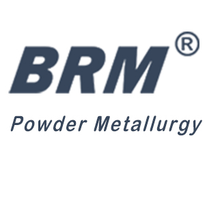 BRM metal injection molding logo