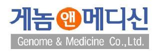 GENOME&MEDICINE logo