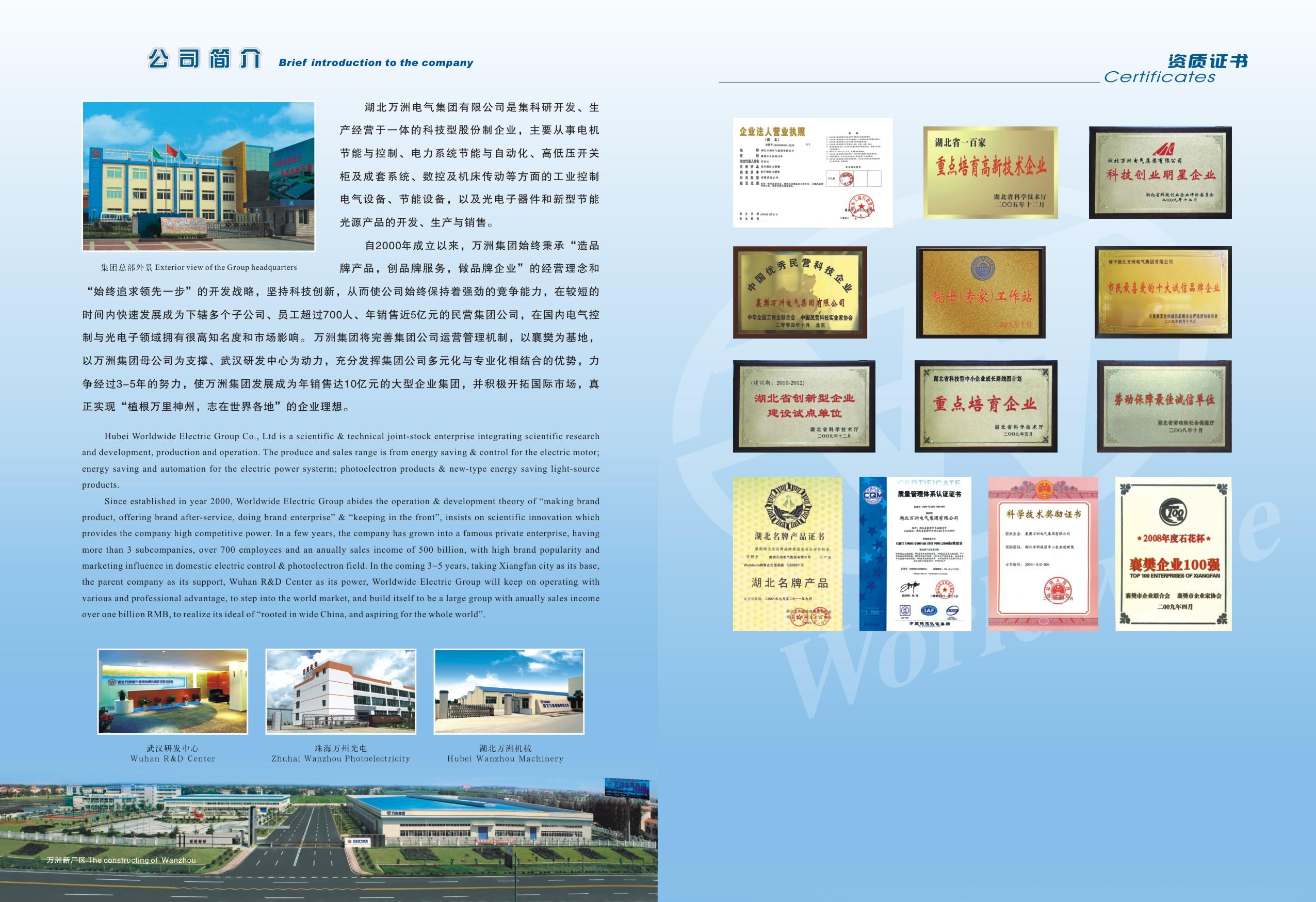 Worldwide electric stock company Main Image