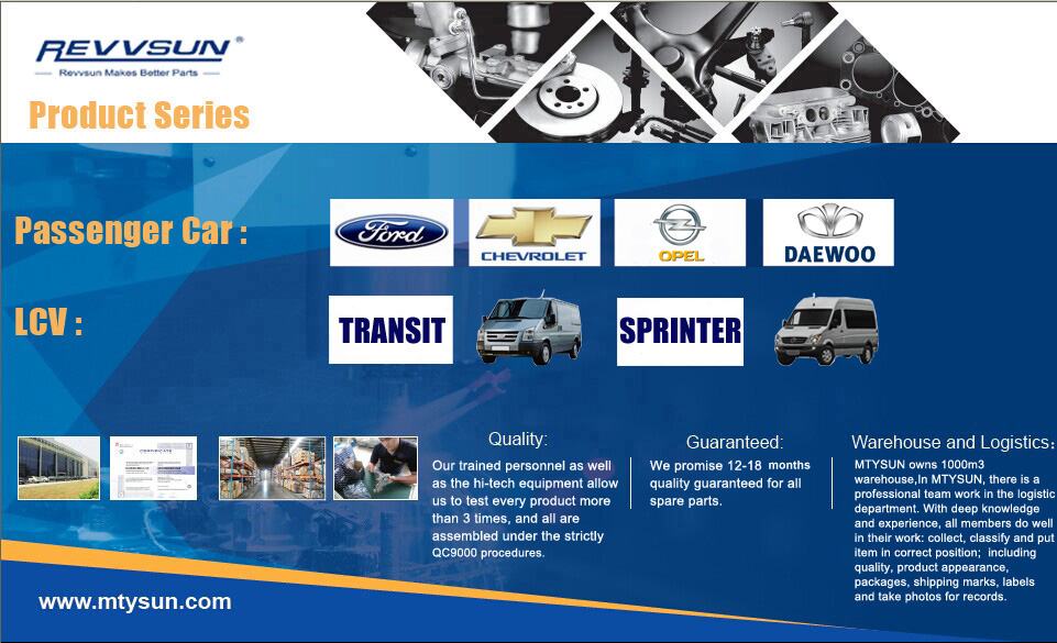 Mtysun Auto Parts Co.,Ltd. Main Image