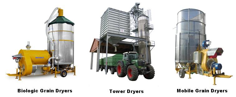 Mecmar Group Cereal Grain Dryers Grain Dryer Cereal