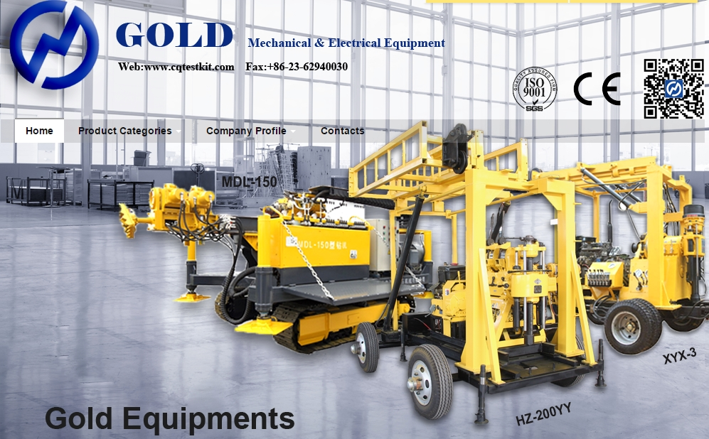 Chongqing Gold Mechanical & Electrical Equipment Co.,Ltd. Main Image