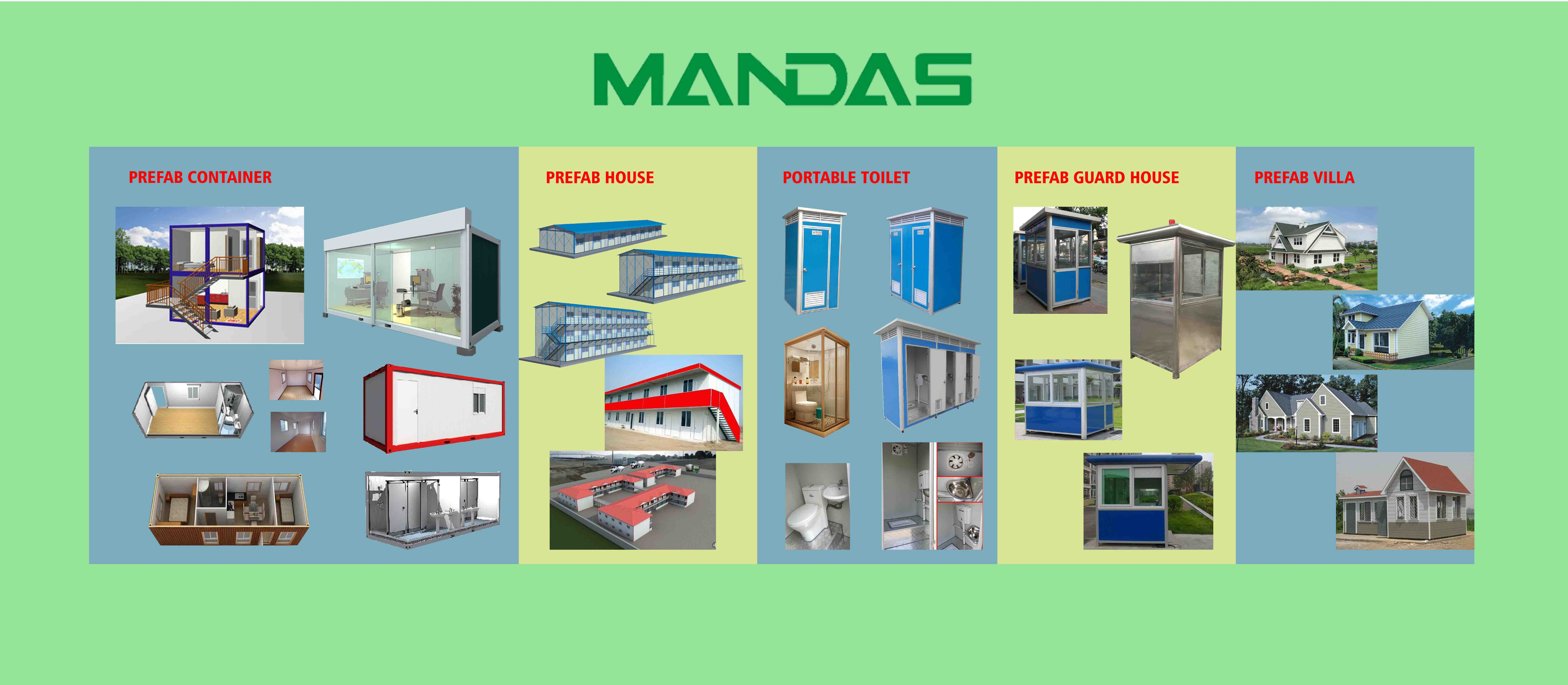 Nanning Mandas Modular House Co.,Ltd. Main Image