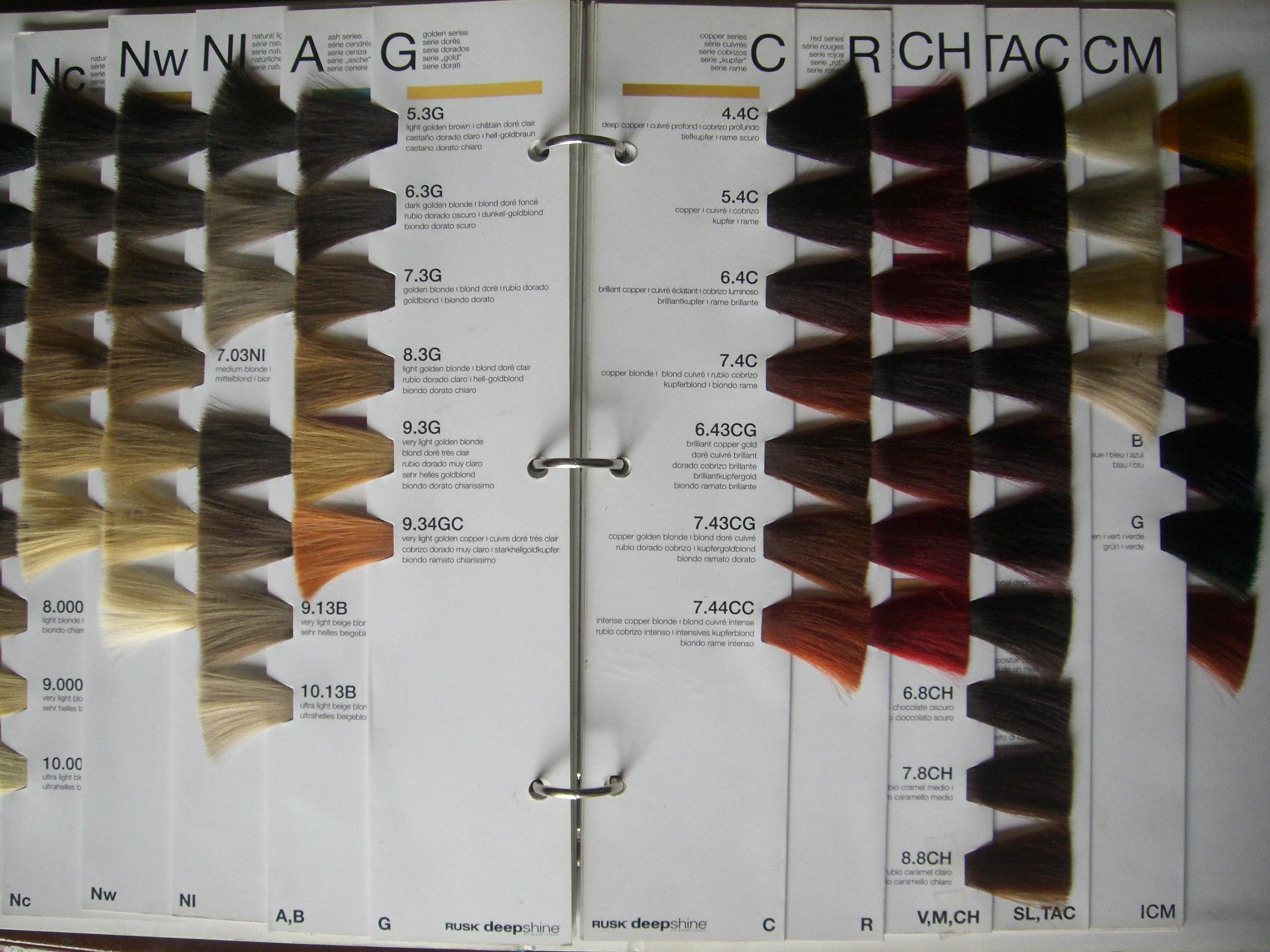Guangzhou Haohui Hair Color CoLtd hair color chart colour