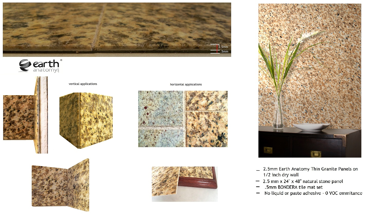 Grizzly Partners, LLC home of EARTH ANATOMY ULTRA THIN GRANITE Main Image