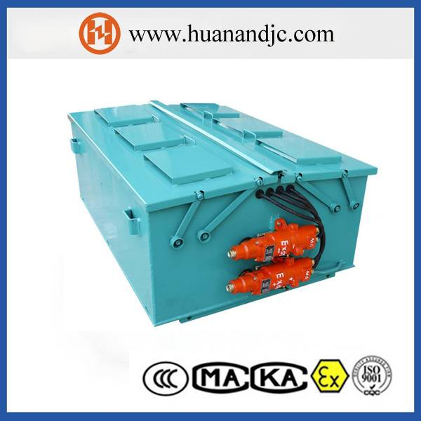 mining explosion-proof battery unit for locomotive