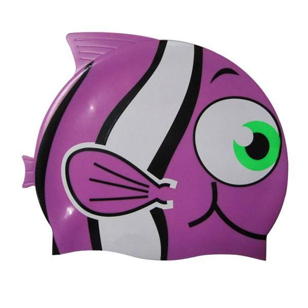 Fish swimming cap for kids