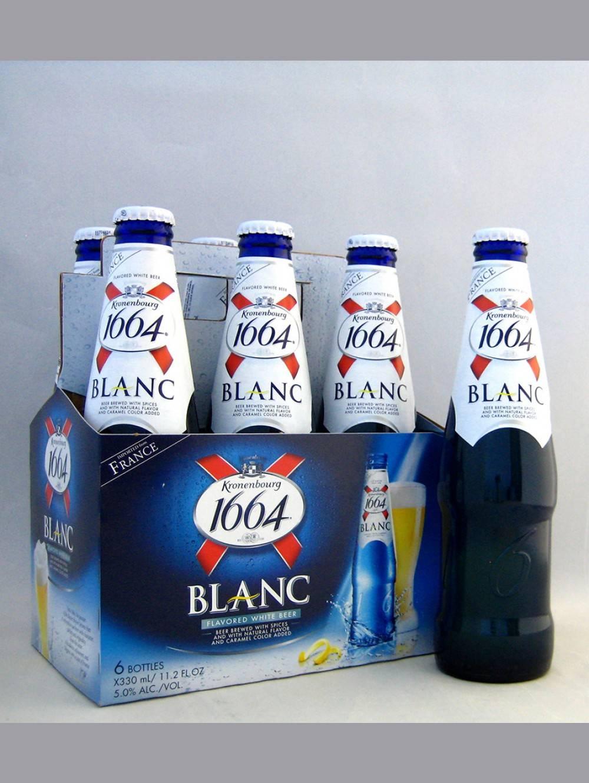 Kronenbourg 1664 Blanc 330ml Bottles // Kronenbourg