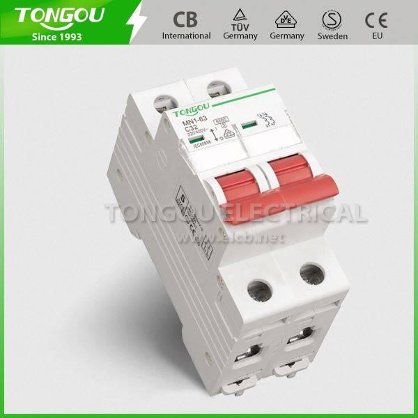 TOMN1-63 type Mini Circuit Breaker