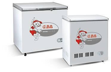 selling single top opening door freezer