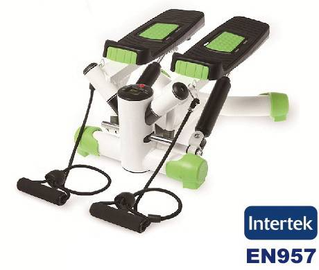 Twist Stepper With Resistance Bands