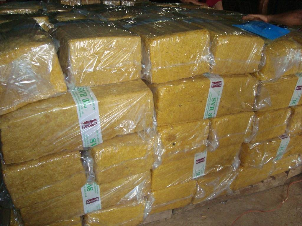 We supply Natural Rubber SVR3L
