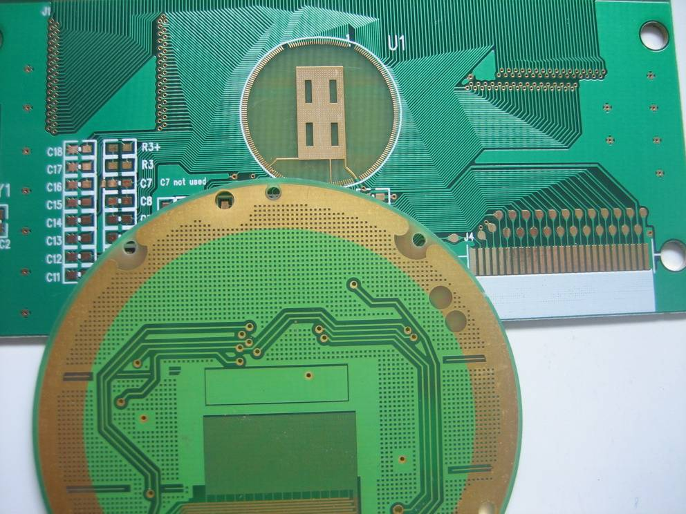 wire bonding printed circuit board