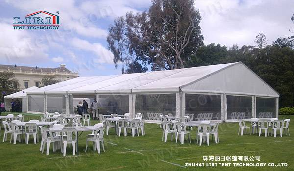 Transparent Party Tent MarqueeCanopy Structure For 2000 Guest