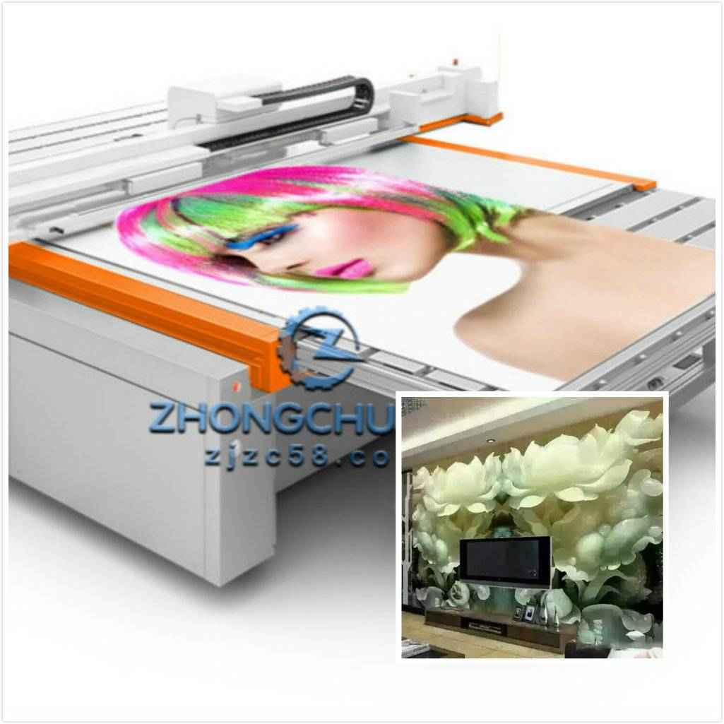 GLASS PRINTING MACHINE UV FLATBED PRINTER