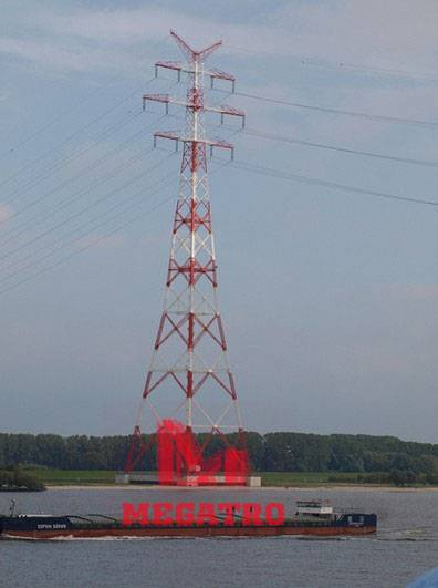 River Crossing Tower for transmission power (MG-RCT011)