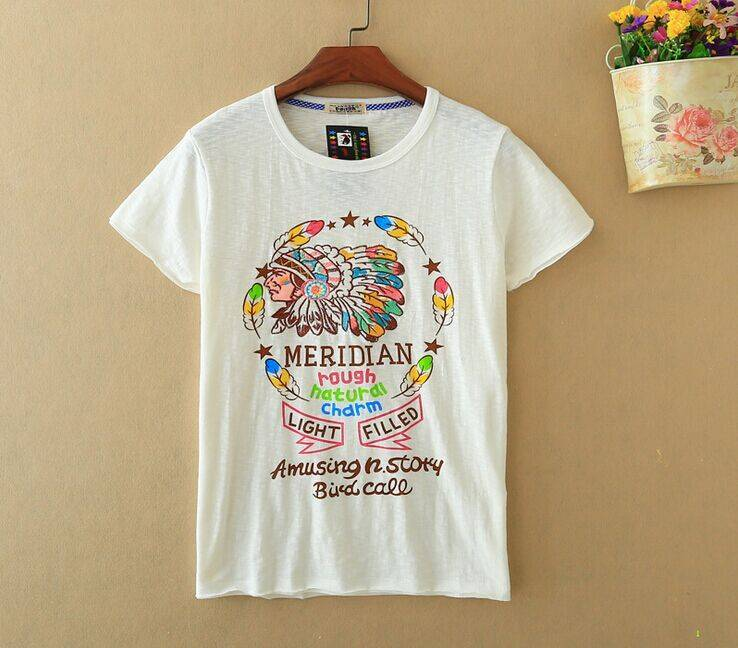 2015 New Lady Natural Amusing Story Short SleeveT-Shirt