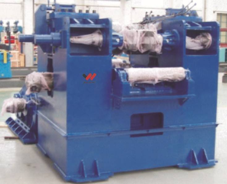 H-beam hydraulic straightening machine