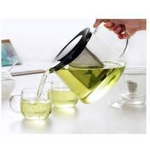 New&nice borosilicate glass tea&coffee pot in 1500ml