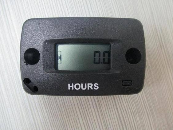 Digital Motorcycle Maintenance Reminder Inductive Hour Meter For Motocross ATV Snowmobile Jet Ski M