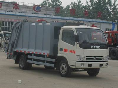 Dongfeng 3ton compression garbage truck