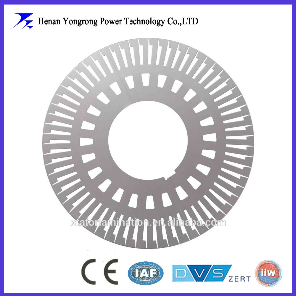 induction motor silicon steel stator rotor lamination