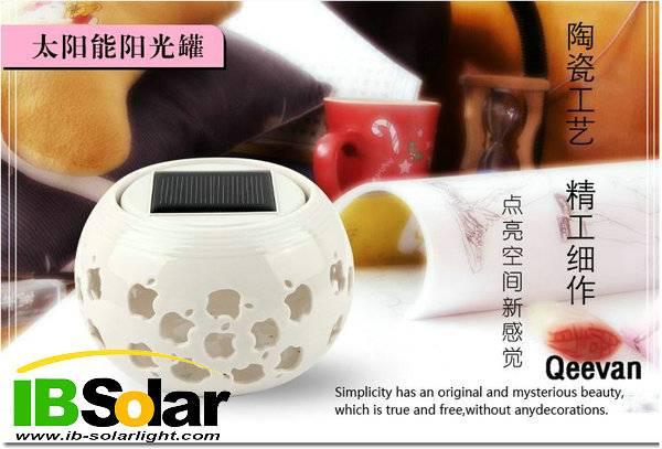 RGB color changing solar jar light decoration lighting