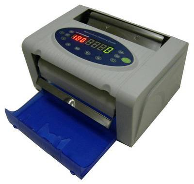 Golden-100 Portable & Rechargeable Battery Banknote Counter