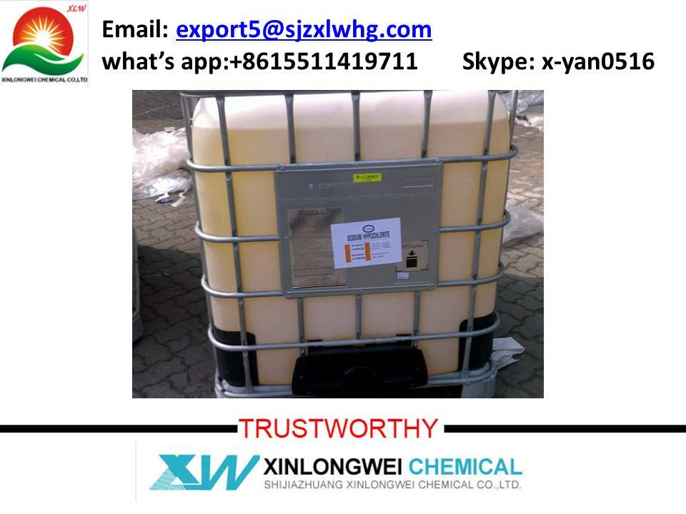 sodium hypochlorite 5% to 13%,NaClO /CAS No. : 7681-52-9