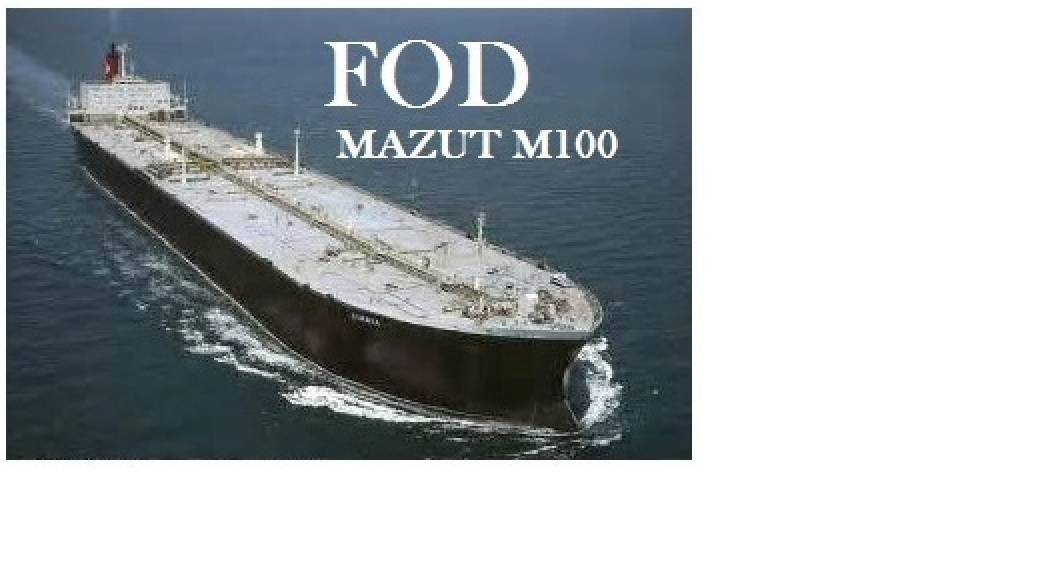 CIF Supply of Mazut M100, D2 and JP54