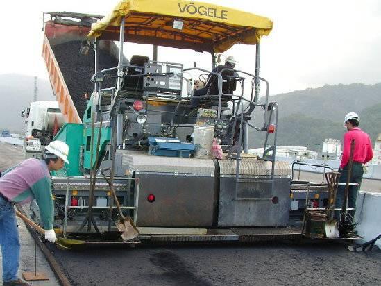 Used Voegele road paver  type S1803-1