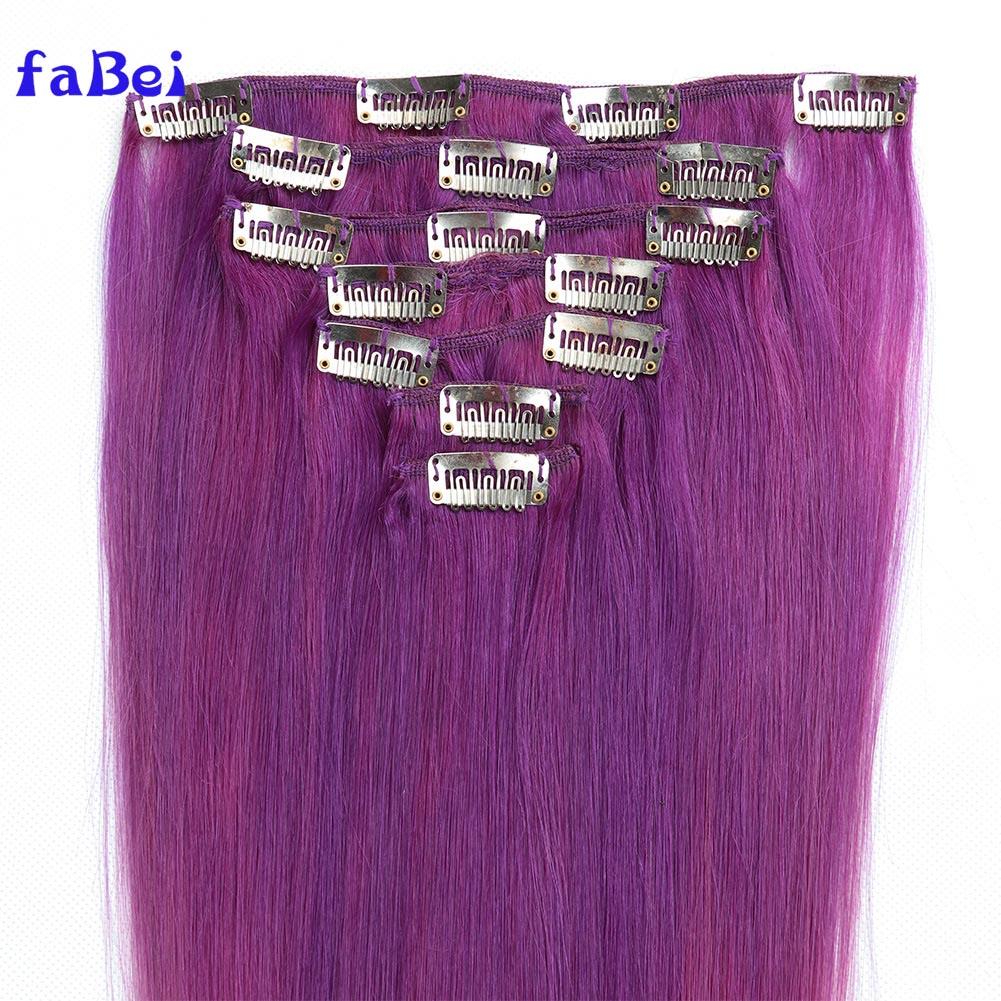 Unprocessed brazilian hair 32 inch hair extensions clip in,remy human clip in hair extension,tangle