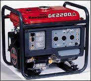 Kawasaki 2200 watt Generators