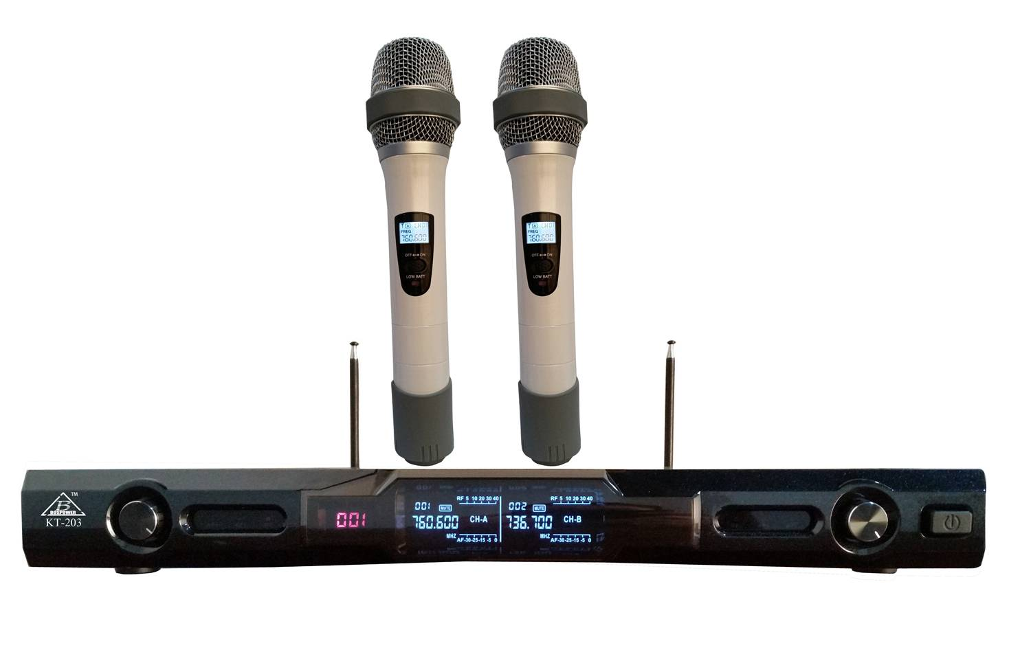 KT-208 wireless microphone professional audio equipemnt