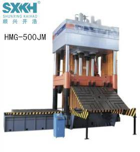HMG-500JM Four Column Hydraulic Die Spotting Press Machine