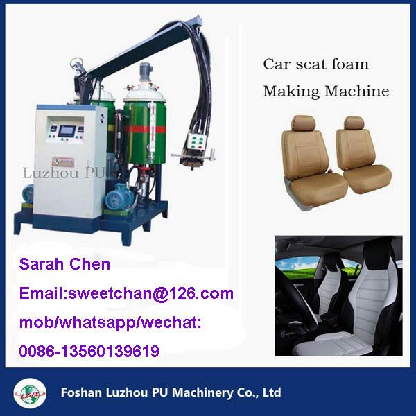 Car seat Cushion PU foam making machine