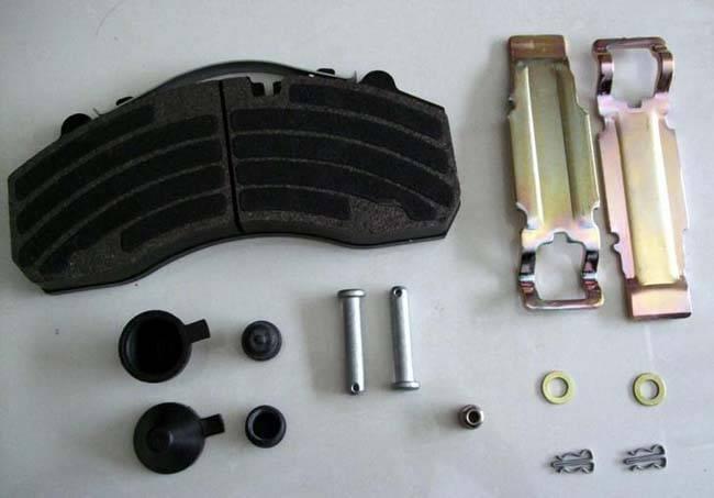 WVA29087 (FMSI: D1203-8323) brake pads