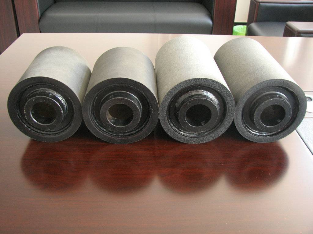 PU roller according to the buyer's drawings