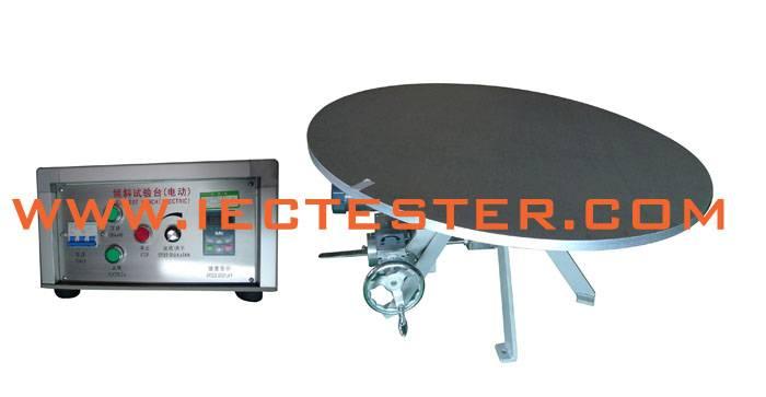 Mechanical Stability Tester Tilt Test Bench IPD-5