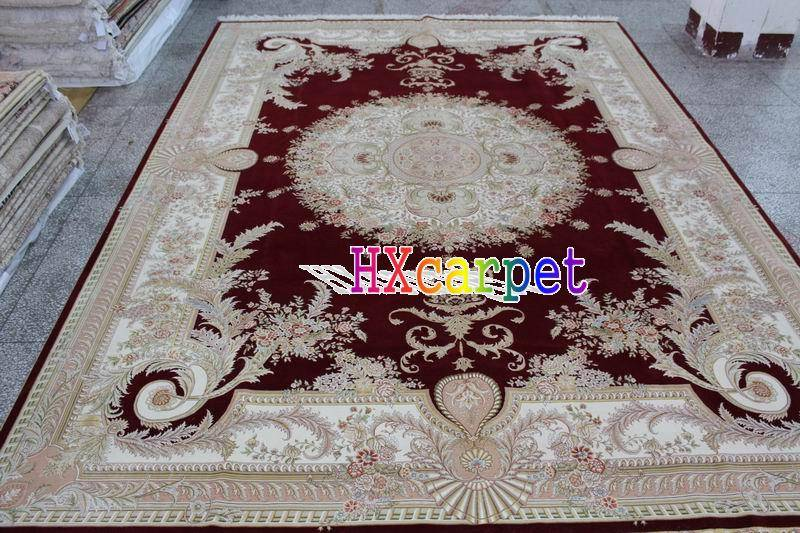 Selling hand-made carpets