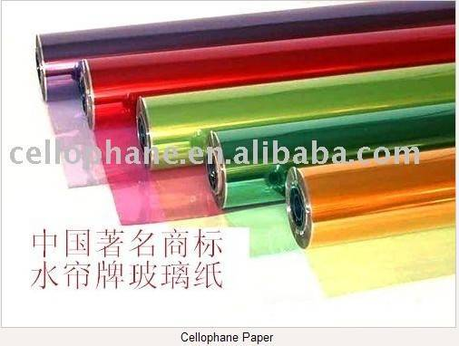 we can supply cellophane paper with the most favorable price