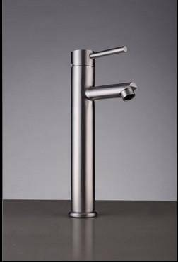 High quality SUS304 Stainless steel Cold and hot water basin mixer
