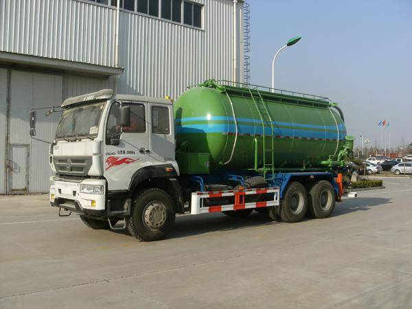 ST5250GGHZ Dry mortar truck/Dry mixed mortar vehicle/Dry-mixed mortar carrier