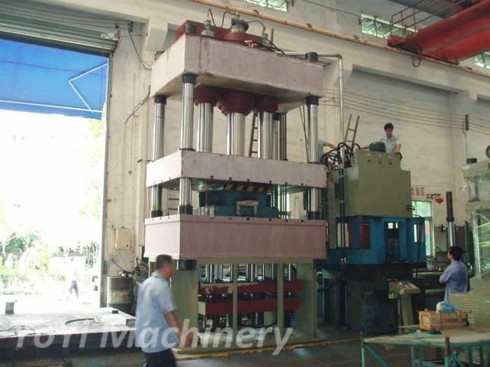 200T hydraulic press for wheel barrow