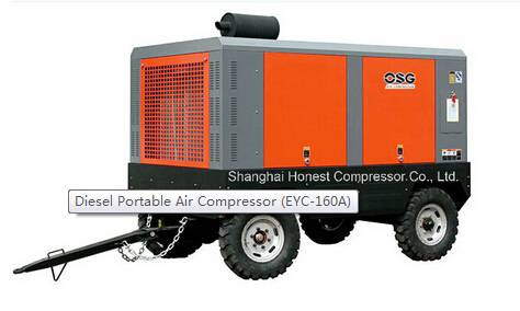 sell 110kw Diesel Portable Air Compressor