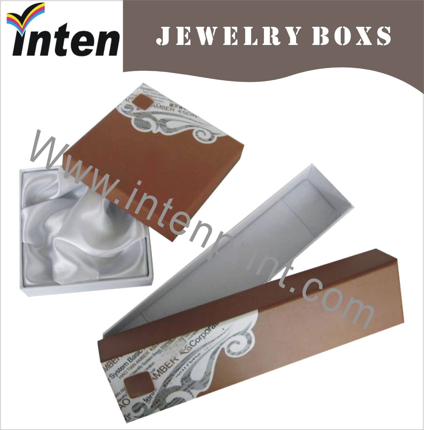 2014 New Design And Fancy Paper Box For Jewelery