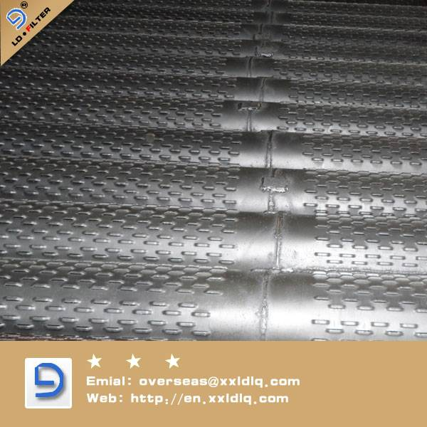 low carbon steeel Galvanized Bridge Slotted Screen casing pipe