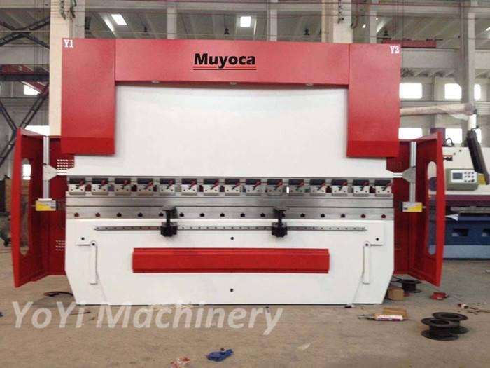 cnc hydraulic servo press brakes 100T/3200mm