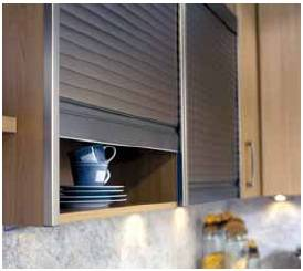 roller shutter for the Kitchen cabinets
