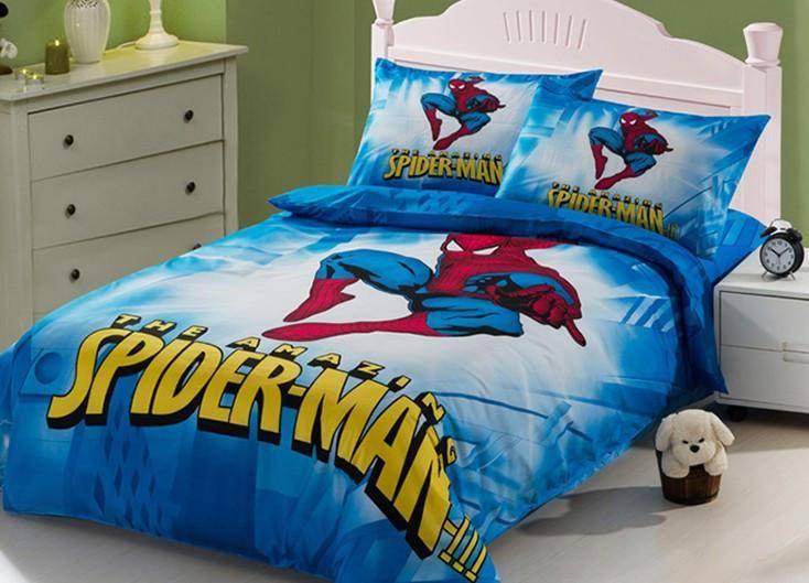 cartoon spider man bedding sets
